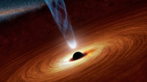 motherfucking-science:  Astronomers: Supermassive Black Hole in NGC 1365 Spins at Nearly Light-Speed  Read more HERE and HERE