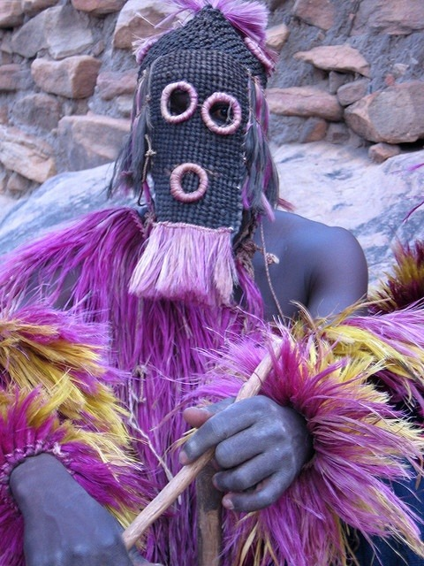 Dance of the masks, Mali by Staffan. In love with the colors.