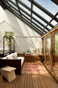 myidealhome:   glass ceiling