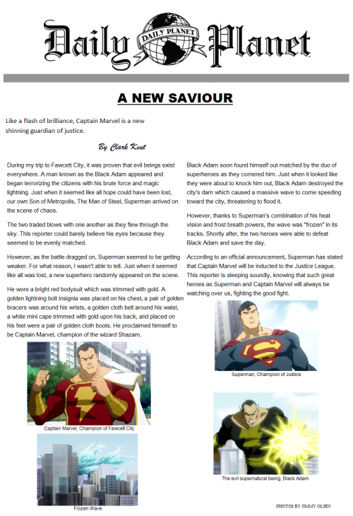 A New Saviour by Clark Kent @Kryptonian_Son_