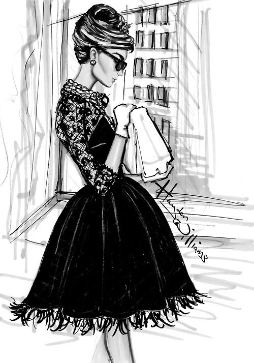 haydenwilliamsillustrations:  Breakfast at Tiffany's by Hayden Williams: Fifth Avenue at 6 A.M.