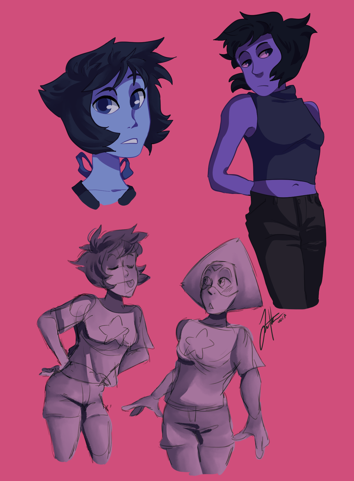 Some Lapis scribbles (and some lapidot)