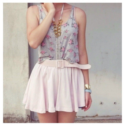 teen fashion Teen Fashion fashion cute cute outfits girly girly outfits ootd skirt floral top accessories summer summer fashion Summer spring spring fashion teen style style