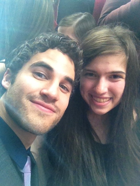 myfinn:  Forgot to post this ! Me and Darren at the UPfronts i Just