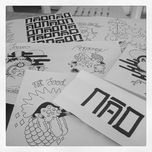 Não. on Flickr.New zine on the way.