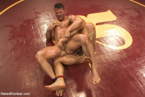 Naked Kombat Marcus Ruhl vs Jeremy Stevens - Muscled Oil Match! Watch this video at http://gogng.co/d7exd