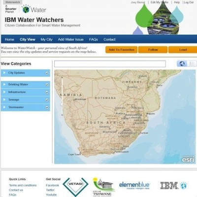 Fixing South Africa's Water System, With Citizen Inspectors | Co.Exist WaterWatchers is a new tool from IBM that lets mobile users, even ones without smartphones, report issues with the water in their communities. Can it help clean up the country's dirty water?