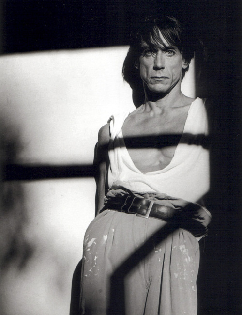 Greg Gorman - Iggy Pop by Greg Gorman, 1987