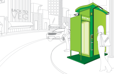 An 'Intelligent' Toilet for Urban Sanitation | ThisBigCity An 'intelligent' toilet with an automated flushing system is set to improve urban sanitation in developing countries. Designed by India's Eram Scientific Solutions Private Limited, the 'Delight' public toilet combines advanced GPRS technology for remote surveillance and maintenance, with minimal drain on resources. The design was awarded a grant of over $450,000 by the Bill and Melinda Gates Foundation earlier this year, as part of the Foundation's second 'Reinvent the Toilet Challenge' – a scheme which aims to encourage the development of next-generation toilets to bring sanitation to the estimated 2.5 billion people who are without. Units are already operational in Delhi, Kerala and Uttar Pradesh, and Eram Scientific plan to roll out a further 10,000 over the coming year.