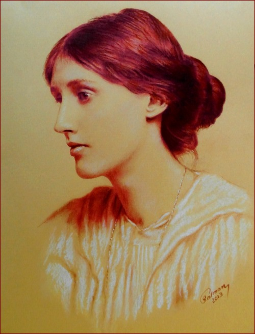 Virginia Woolf by Nahidh Salman