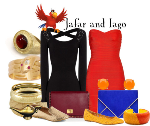 Jafar and Iago by everythingisdisney Buy it here!