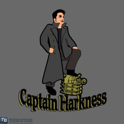 Captain Harkness by Anthony PipitoneOn sale for € 8.99 from Teebusters for 2 days only.