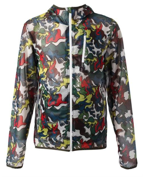 MULTI COLOR CAMO JACKET BY MIHARA YASUHIRO X PUMA  Three things we are suckers for hooded nylon jackets, camouflage, and Puma; combine them all together and you get this jacket, which make it a definite must-have for us. The brand frequently collaborates with streetwear legend Mihara Yasuhiro and this whole new pop art print they have going on is a perfect example of why. With three zip enclosure pockets this lightweight polyester windbreaker is perfect for a run or running around town. What's even better, there's shorts, shoes, and a bag to match. Shop the collection HERE.