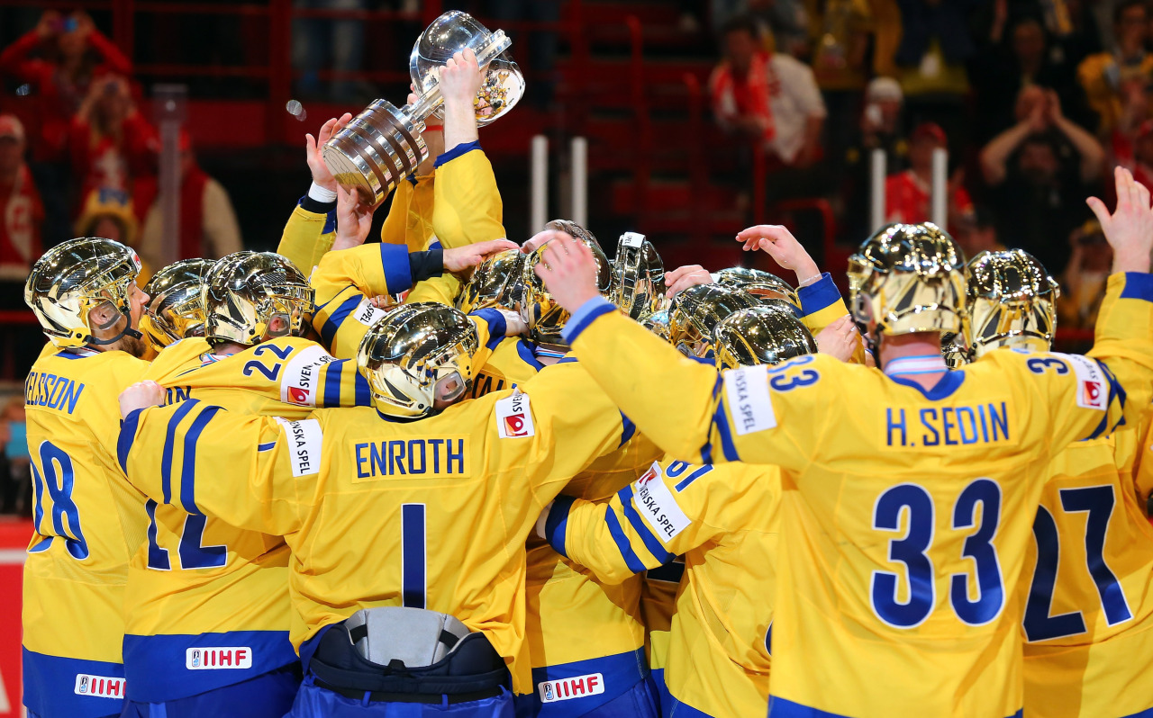 The Sedins led Sweden to a gold medal at the World Hockey Championships earlier today. I did a write-up for Nucks Misconduct.