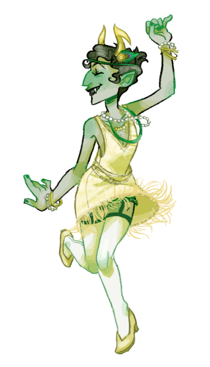 kangaya:  flapper kanaya from the stream uwu