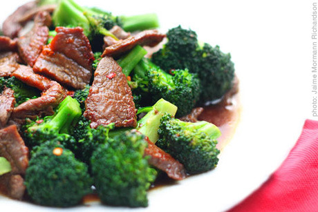beef broccoli stir fry from Babble