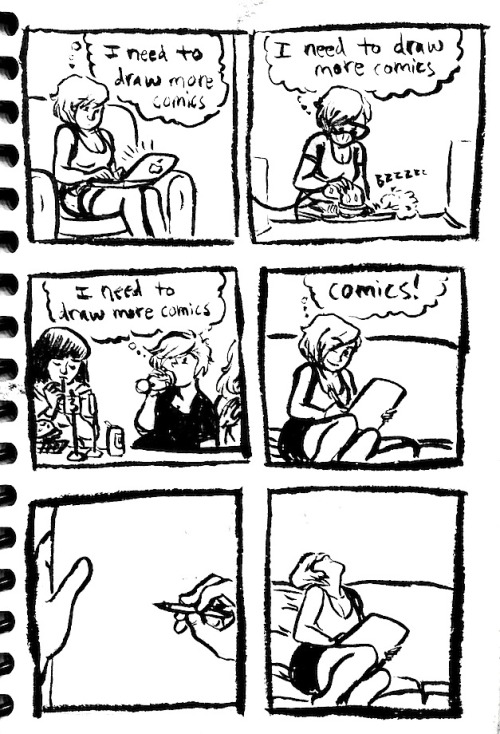 bendrawslife:  whatamidoingandwhyamidoingit:  Meta comics make the world go round  The absolute truth.   Ugh! Every time!