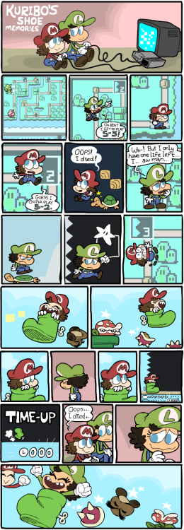 Kuribo's Shoe Memories (click for big)