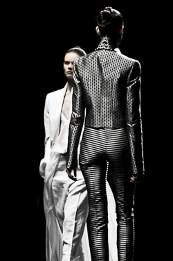 il-est-mon-destin:  HAIDER ACKERMANN SPRING SUMMER 2013 SHOW DURING PARIS FASHION WEEK PHOTOGRAPHED BY MATTEO CARCELLI, SOME/THINGS AGENCY