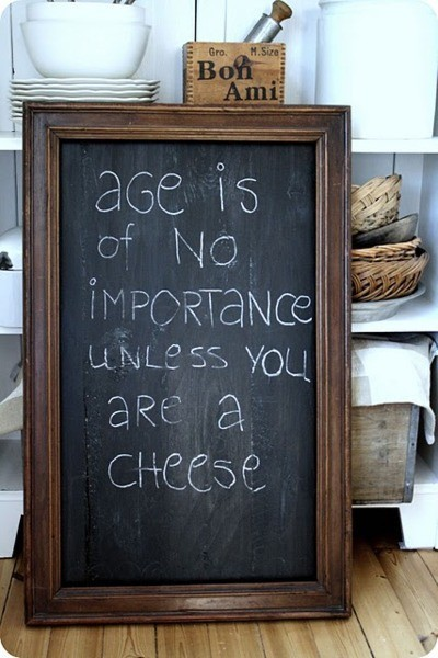 nonconcept:  Age is of no importance…