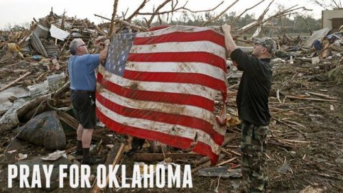 mediaresearchcenter:  God bless all those in Oklahoma affected by the tornadoes. America stands beside you!