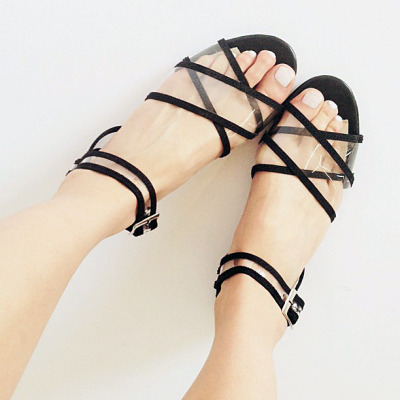 The Primavera Criss Cross Sandal is back online!
