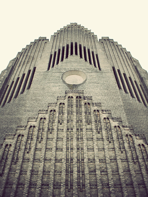ryanpanos:  Grundtvigs Church by Kim Høltermand