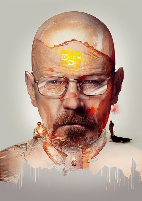 Breaking Bad Print by =pete-aeiko