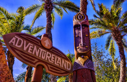 minnie-mickey-disney:  Adventureland Tiki HDR on Flickr.