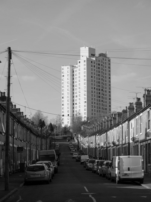 scavengedluxury:  The Tower in the Dale. Sneinton, Nottingham. February 2013.