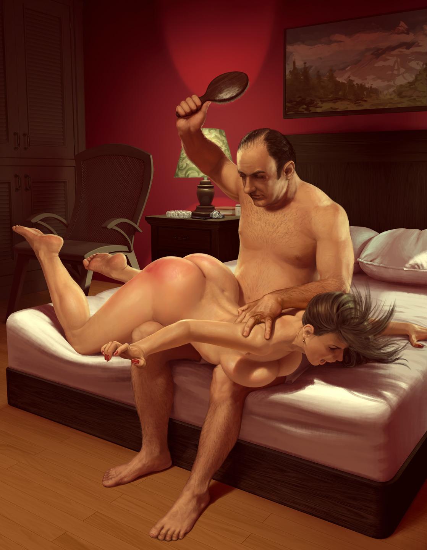 Flatt spanking art