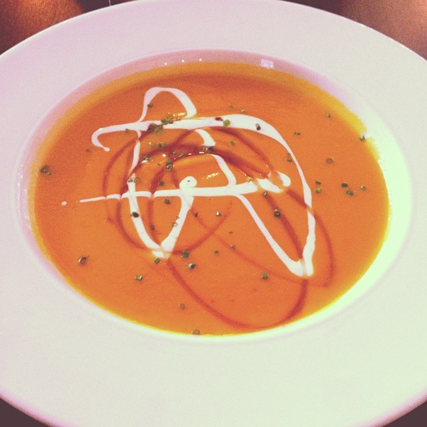 From Gastroposter Valida Jafarov:  Root vegetable soup from Luma off of their Winterlicious menu.