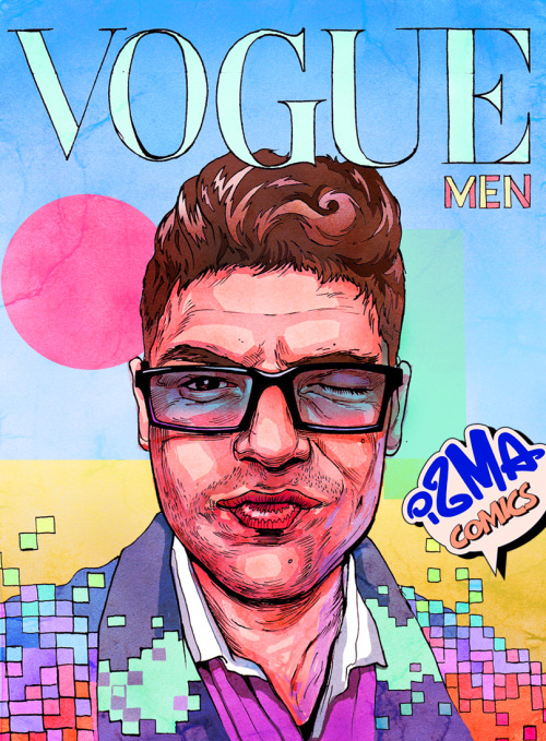 VOGUE men cover - ismaComics 2013