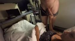 ManyVids Mariah Leonne Train Masturbate Suck Stranger