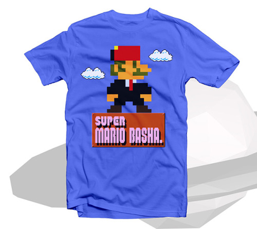 zo7al-designs:  Super Mario Basha T-shirt سوبر ماريو باشا