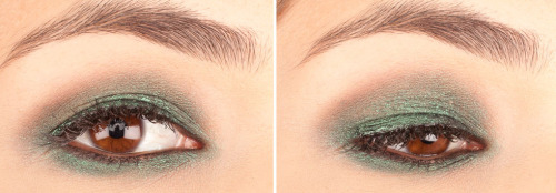 Check out these 3 green eyeshadows — perfect for St. Patrick's Day!