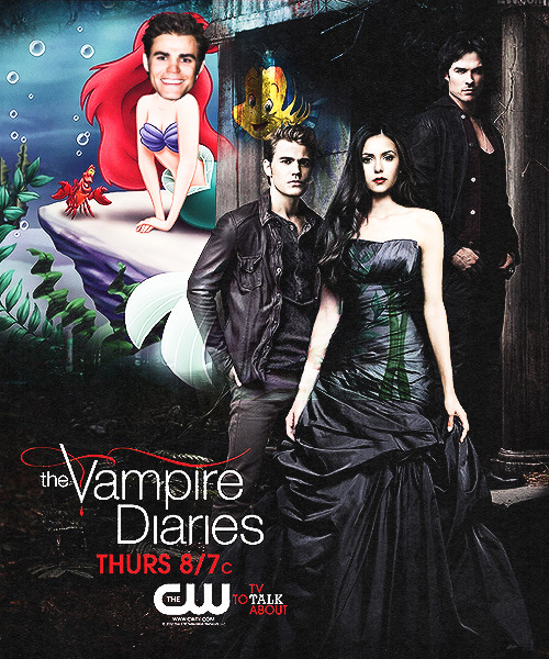 weslev:  The Vampire Diaries Season 5 Poster