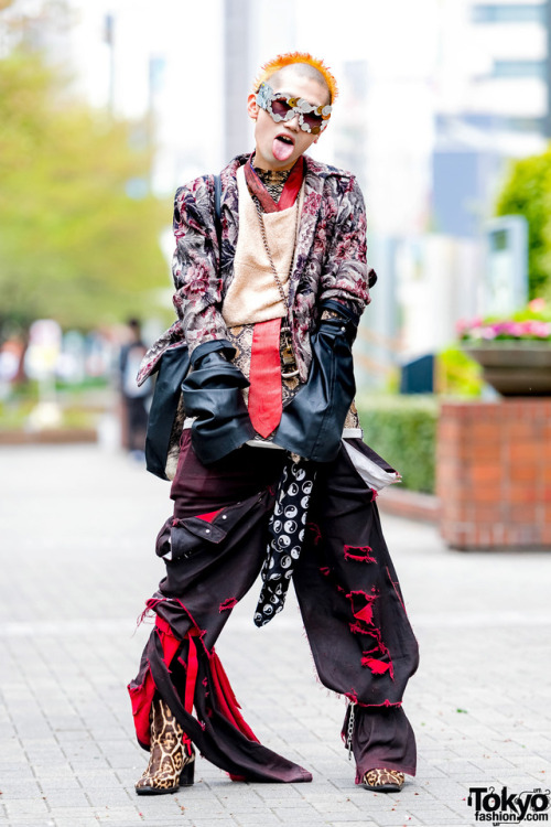 Japanese fashion Japanese street fashion avantgarde fashion Japanese streetwear Saint Laurent