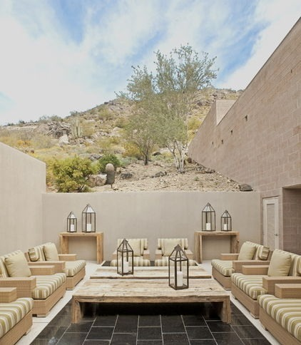 Desert retreat.