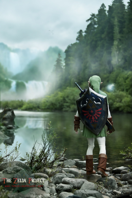 kaciart:  theomeganerd:  The Legend of Zelda 'The Zelda Project' ~ Cosplay by adella  Nope