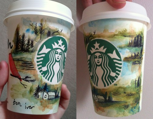 Time to paint my starbucks cups too….