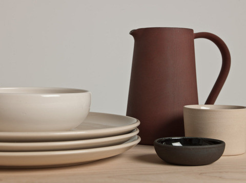 Another Pottery Series by Ian McIntyre, via Another Country