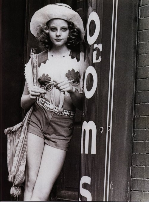 shadeandthe50thieves:  Jodie Foster in Taxi Driver She was 14 years old.