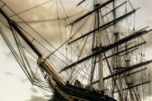 "blackheartedbrigand: ""Salling with Cutty Sark by Arleta Rogozinska on 500px """