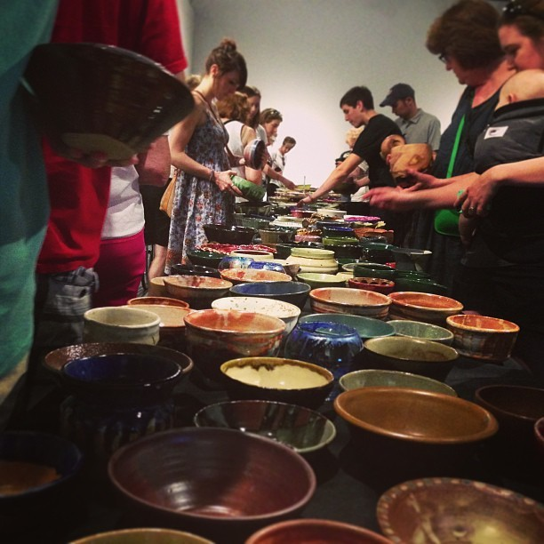 Empty Bowls @CraftHouston!