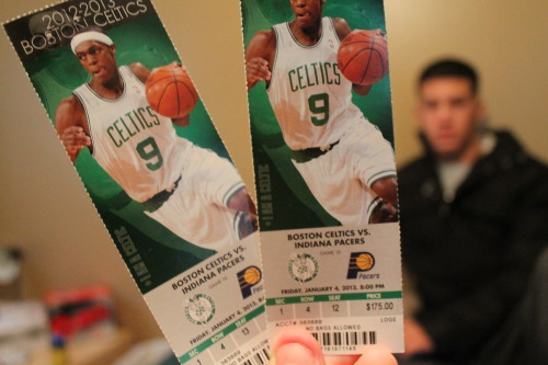 appea1:  Celtics game tonight :D
