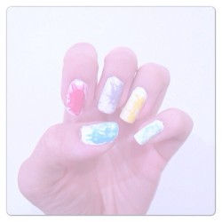 Brist på inspiration -_- #nailart #nails #art #nailpolish #girl #girly #colorful #pastel #light #colors #weheartit #inspiration #instagood #stylish #fashion #diy #creative #picoftheday #stockholm #sweden