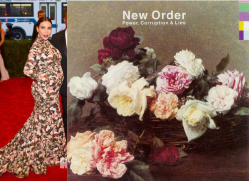 (via Arrowhead Vintage: Album/Outfit: New Order x Kim Kardashian at the Met Gala)