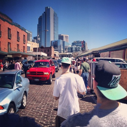 Filthy Krew Vs. Pike Place Market #Seattle #Life #Northwest