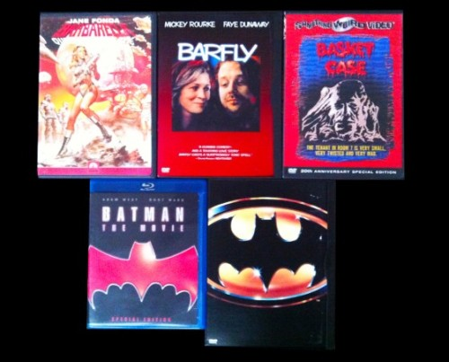 My Movie Collection - Drunk Sexy Super Hero EditionFriday means 5 more movies fall out of my collection and in front of your eyeballs. Let's take a…View Post